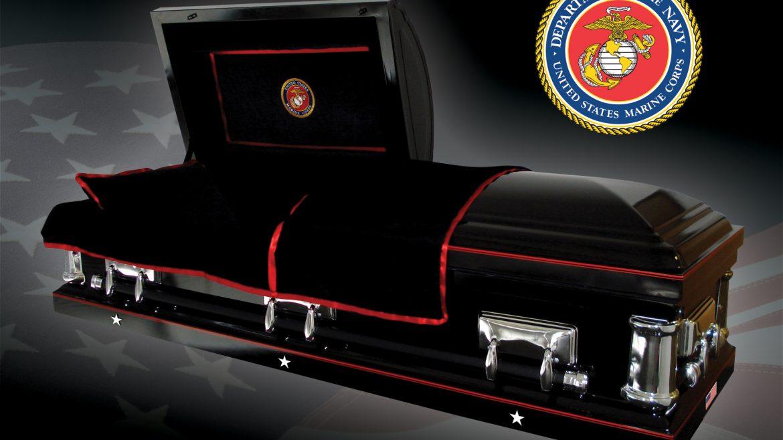 Marine Corps Casket