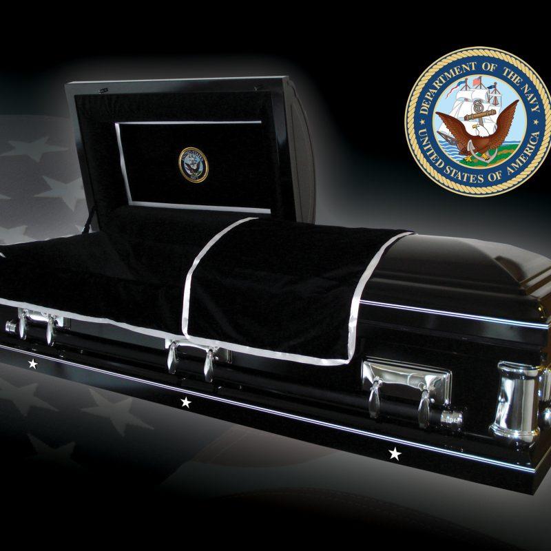 Navy Casket