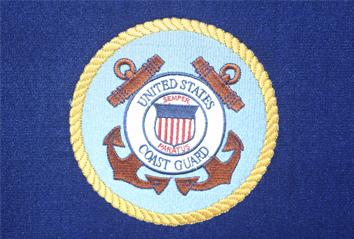 Coastie Casket - Military Casket