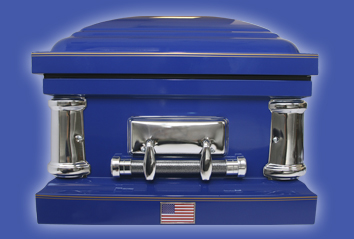 Coastie Casket - Military Casket