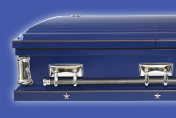 Coast Guard Casket - Military Casket