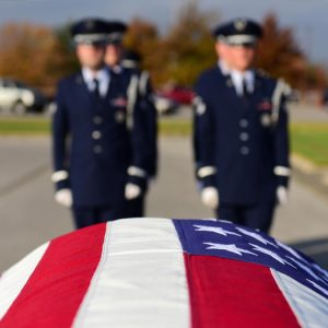 Veteran Caskets Honors