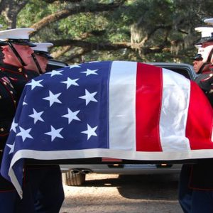 Veteran Caskets Honor Guard